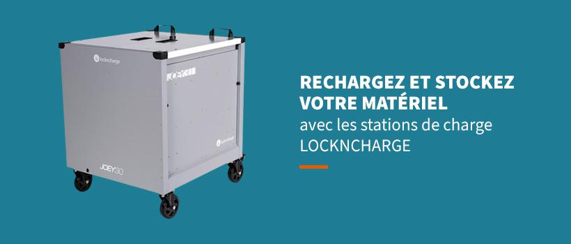 La sélection de station de charge LockNCharge par Netram