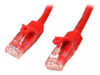 StarTech.com Câble Ethernet 10 m - RJ45 Cat6 - Câble réseau sans accroc - UTP - Cordon patch - Catégorie 6 - Rouge - Cordon de raccordement - RJ-45 (M) pour RJ-45 (M) - 10 m - CAT 6 - moulé, sans crochet - rouge