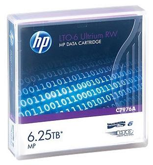 Cartridge HP LTO-6 2,5TB/6,25TB C7976A