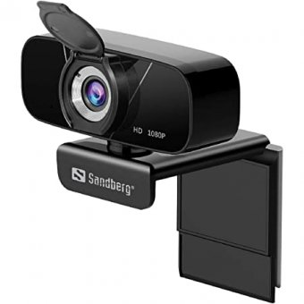 134-15 Sandberg USB Chat Webcam 1080P HD