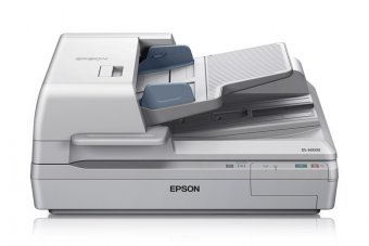 Epson WorkForce DS-60000N - Scanner de documents - Recto-verso - A3 - 600 dpi x 600 dpi - jusqu'à 40 ppm (mono) / jusqu'à 40 ppm (couleur) - Chargeur automatique de documents (200 feuilles) - jusqu'à 5000 pages par jour - Gigabit LAN