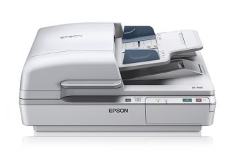 Epson WorkForce DS-7500 - Scanner de documents - Recto-verso - A4 - 1200 dpi x 1200 dpi - jusqu'à 40 ppm (mono) / jusqu'à 40 ppm (couleur) - Chargeur automatique de documents (100 feuilles) - jusqu'à 4000 pages par jour - USB 2.0