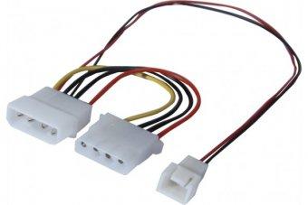 Adaptateur d alimentation Molex pour ventilateur 3 broches