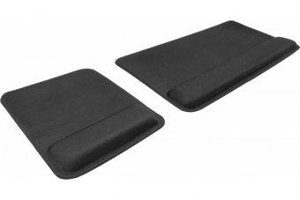 DACOMEX Pack tapis de souris et clavier avec repose poignet MP600