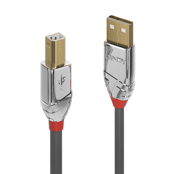 Lindy Câble USB 2.0 Type A vers B, Cromo Line, 1m