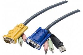 Cable E7 kvm ATEN 2L-53xxU VGA-USB-Audio - 5 m