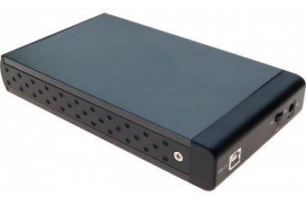 """DEXLAN Boîtier externe USB 2.0 pour disque dur 3.5"""" SATA/IDE"""