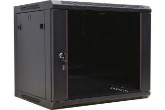 "DEXLAN Coffret WM-60 Extended 19"" 6U profondeur 600 mm (noir) version kit"