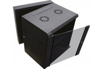 """DEXLAN Coffret WM-60 Double section 19"""" 15U profondeur 550 mm (noir)"""