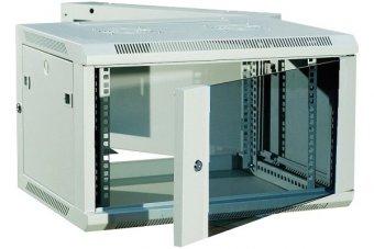 """DEXLAN Coffret WM-60 Double section 19"""" 6U profondeur 550 mm (gris)"""