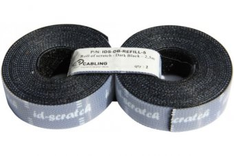 Patchsee id scratch lot de 2 recharges de 2,5M - noir